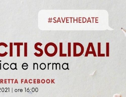 """""""Lasciti solidali. Tra etica e norma"""" – evento live 13.09.2021"""